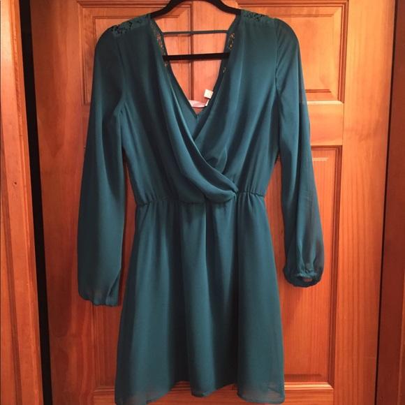 Francesca's Collections Dresses & Skirts - Francesca's Teal Dress
